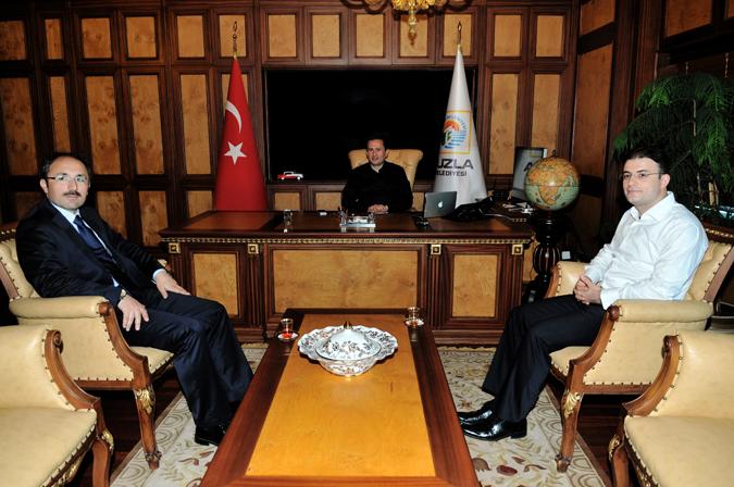 Kaymakam Yıldızhan, Başkan Yazıcı'yı Ziyaret Etti