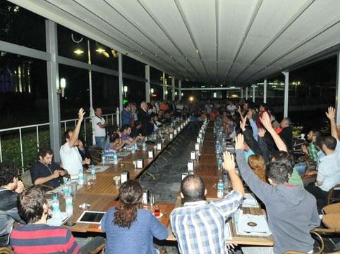Kafede Gezi Parkı Zirvesi