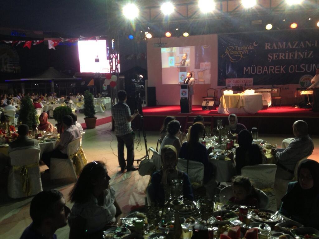 Dr.Şadi Yazıcı'dan Belediye Çalışanlarına İftar yemeği