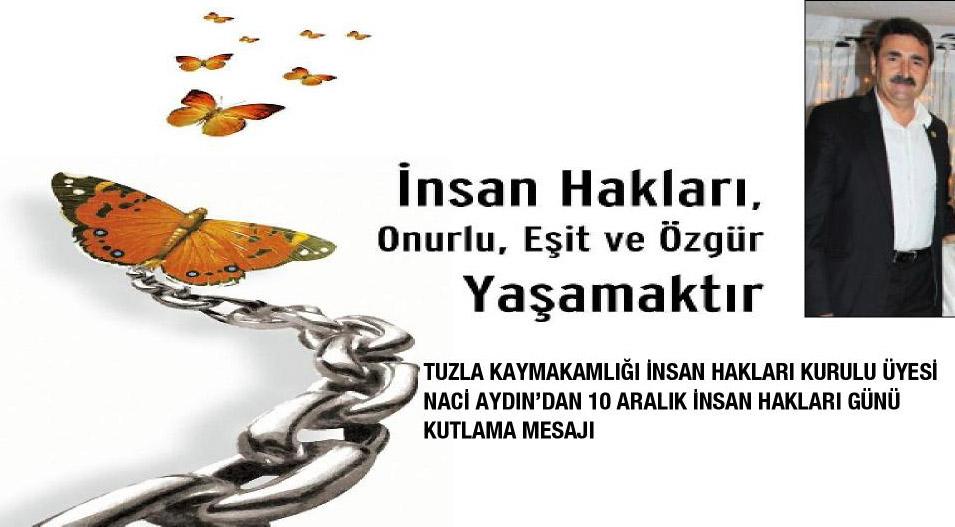 10 Aralık İnsan Hakları Günü