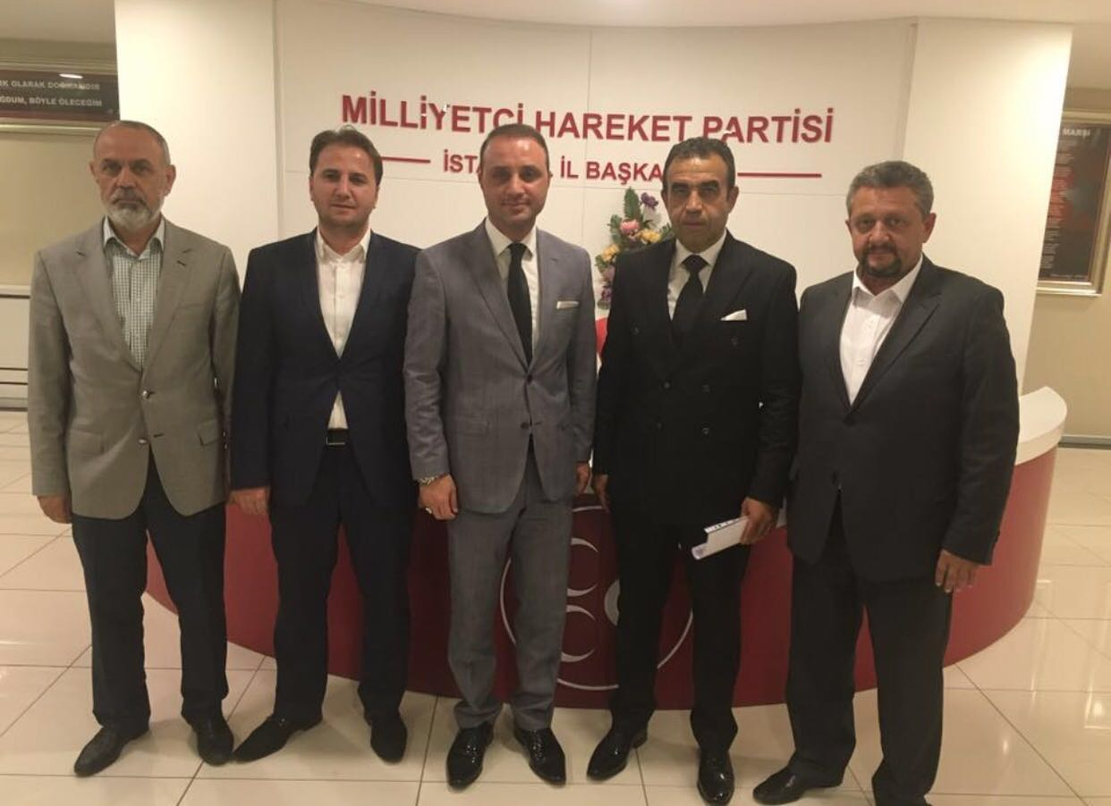 Yeni İlçe Başkanı Volkan Beşiroğlu…