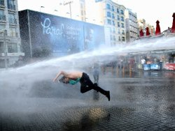 Gezi Parkı eylemi dünya basınında