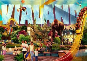 """Yerli Disneyland olan """"VİALAND"""" açıldı"""