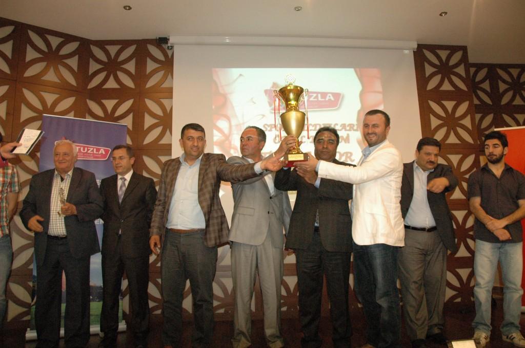 Spor Yıldızları Ödül Töreni Yapıldı.