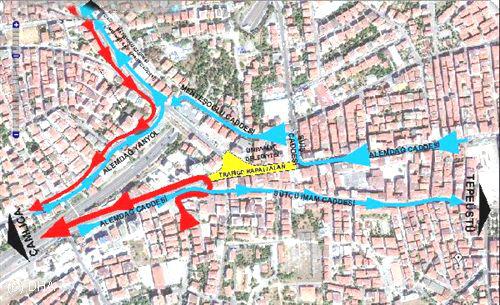 İstanbul'da Bu Cadde 3 Yıl Kapanacak
