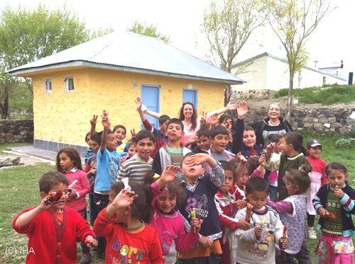 Nene Hatun Köyü İlköğretim Okuluna Yardım