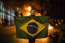 Brezilya'da ulaşım zammı iptal