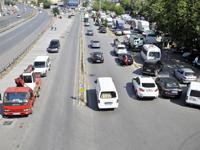 İki caddede trafik sorununa çözüm