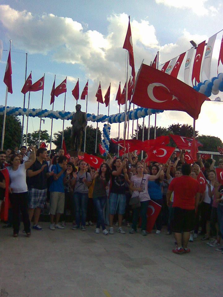 Tuzla'da Gezi Protestosu
