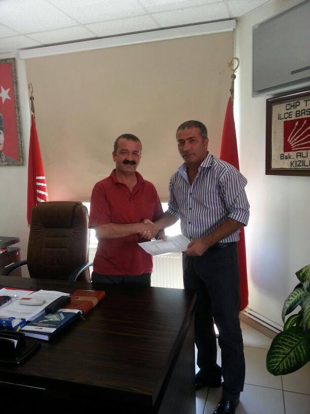 Belediye Başkanlığı'na Ali Çelik de Aday