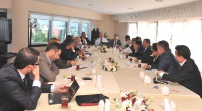 Anadolu Yakası Belediye Başkanları Koordinasyon Toplantısı Yapıldı