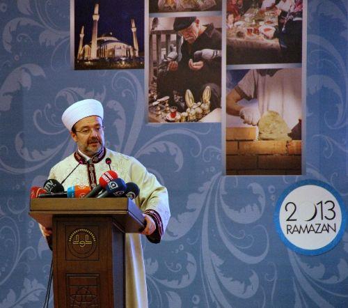 Diyanet İşleri Başkanı Görmez'den Ramazan Uyarısı