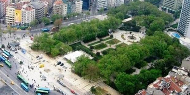 Gezi Parkı 8 bin metrekare Büyüyor