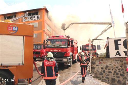 Tuzla'da Yangın !!!