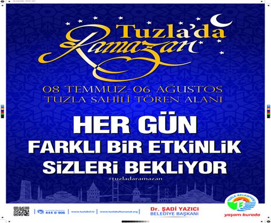 Tuzla'da Ramazan Günleri Programı