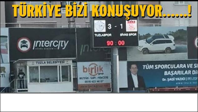 Süper Lig ekibi Sivasspor'u da 3-1 yendik