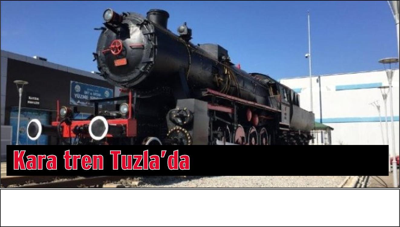 Kara Tren Şelale Park'ta sergilenmeye başladı.