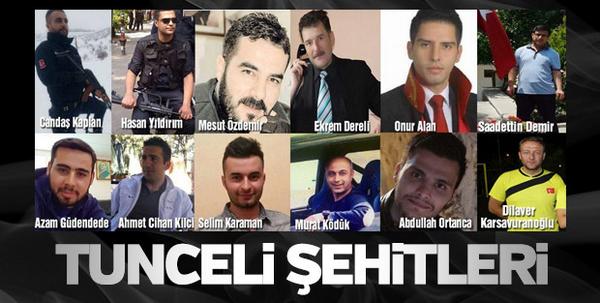 Tunceli'deki Helikopter Kazası…