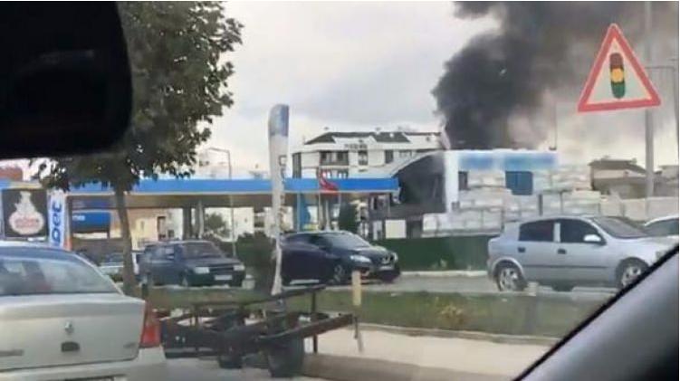 Tuzla'da patlama Yaralılar var!!