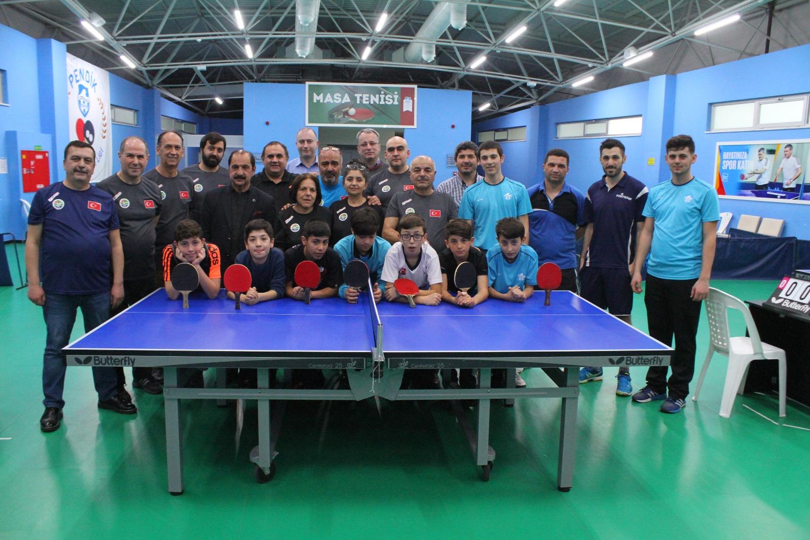 Medya Masa Tenisi Turnuvası Pendik'te yapıldı…