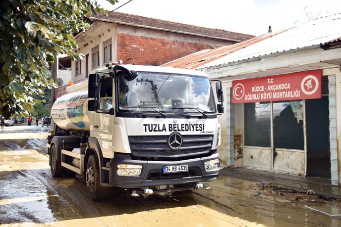 Tuzla Belediyesi Yardıma Koştu